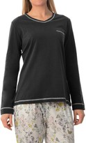 Calida Favourites Trend 5 Shirt - Cotton, Long Sleeve (For Women)