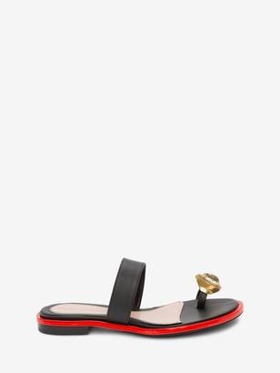 Alexander McQueen Jewel Strap Sandal