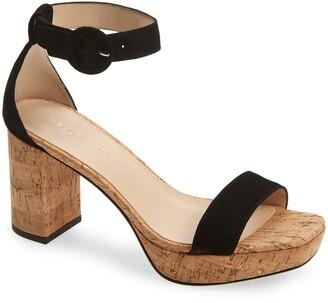 Pelle Moda Amari Platform Block Heel Sandal