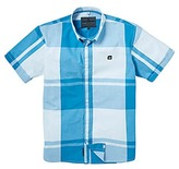 Voi Jeans Arena Large Check Short Sleeve Shirt Long