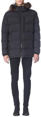 Moose Knuckles Southdale Fur Trimmed Hooded Puffer Jacket