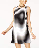 One Clothing Juniors' Striped A-Line Dress