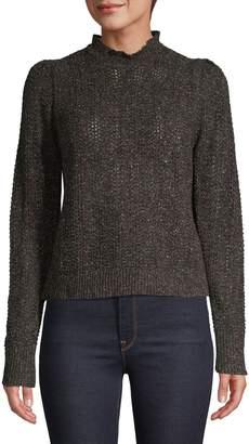 Joie Mockneck Wool-Blend Sweater
