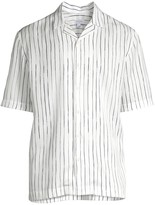 White Sovereign Code Mens Ky Woven Shirt