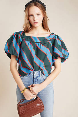 Tracy Reese Hope For Flowers By Ginevra Balloon-Sleeved Blouse