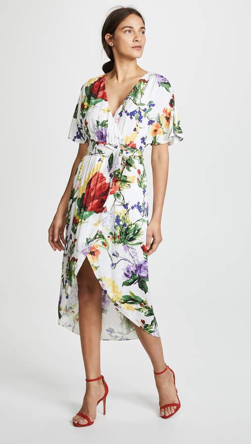 Alice + Olivia Clarine Wrap Dress