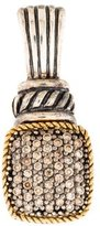 Effy Jewelry Two-Tone Brown Diamond Pendant