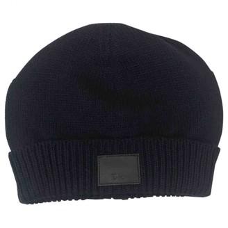 Christian Dior Navy Wool Hats
