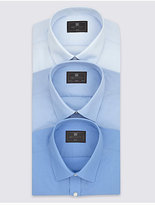 M&S Collection 2in Longer 3 Pack Shirts with Pocket