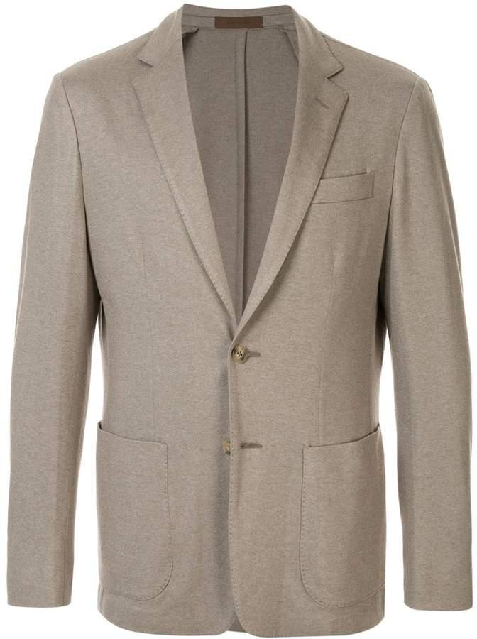 Corneliani jersey blazer