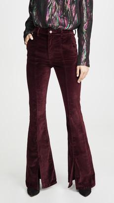 DL1961 Rachel 35' High Rise Flare Jeans