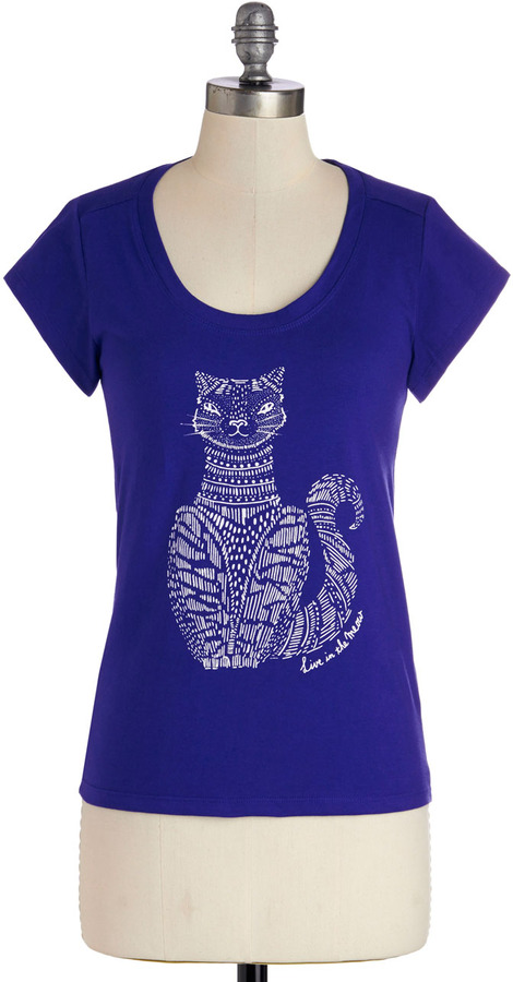 People Tree Live in the Meow Tee