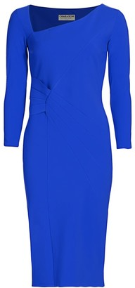 Chiara Boni Kyle Three-Quarter Sleeve Sheath Dress