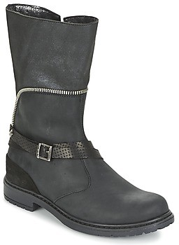 Ikks FLORA girls's High Boots in Black