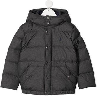 Ralph Lauren Kids Hooded Puffer Jacket