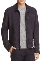 Todd Snyder Dean Suede Zip-Front Jacket