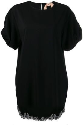 No.21 Puff-Sleeve Dress