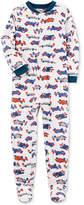 Carter's 1-Pc. Car-Print Footed Pajamas, Little Boys (4-7) & Big Boys (8-20)