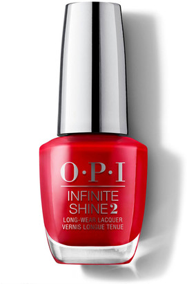 OPI Infinite Shine Gel Effect Nail Lacquer 15Ml Big Apple Red