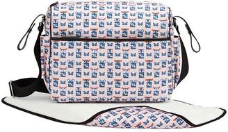 Fendi Kids Graphic Faces Changing Bag