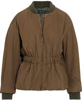 Isabel Marant Dex Shell Bomber Jacket - Army green