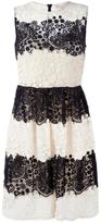 RED Valentino lace flared dress - women - Silk/Cotton/Polyamide/Polyester - 42