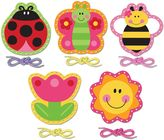 Stephen Joseph Ladybug Lacing Cards (Set of 5)