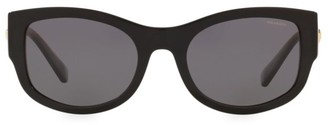 Versace 55MM Oval Sunglasses