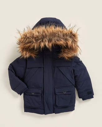 Appaman Toddler Boys) Denali Faux Fur-Trimmed Down Coat