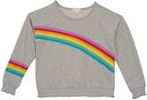 Design History Girls Girl's Rainbow Sweatshirt, Size S-XL