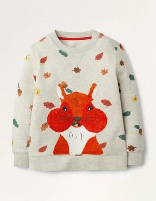 Boucle Woodland Sweatshirt
