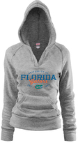 Soffe Florida Gators Oxford Rugby V-Neck Hoodie - Women
