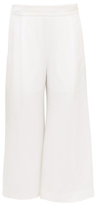 ODYSSEE Benson Cropped Twill Trousers - White