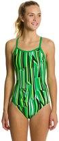 Nike Swim Dynamic Lines Classic Lingerie Tank One Piece Swimsuit 8114706