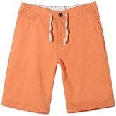 Panegy Mens Cotton Elastic Waist Short Pants Boardshorts Beach Pants Trousers Size L