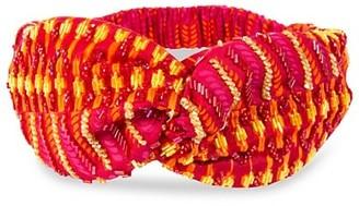 Deepa Gurnani Mayank Embellished Knotted Headwrap