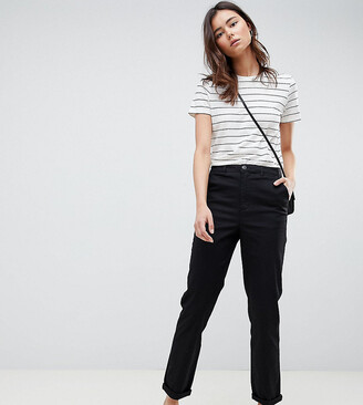 Asos Tall DESIGN Tall chino trousers in black
