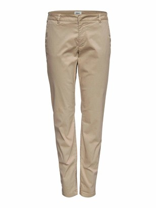 Only NOS Women's onlMONACO REG CHINO PNT NOOS Trousers