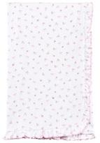 Kissy Kissy Floral Print Blanket