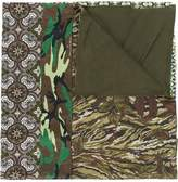 Pierre Louis Mascia Pierre-Louis Mascia patch-work woven scarf