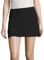 Design Lab Lord & Taylor Wrap Mini Skirt