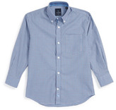 Tailorbyrd Check Woven Dress Shirt (Big Boys)
