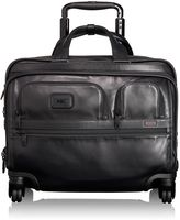 Tumi 4 Wheeled Deluxe Leather Brief with Laptop Case