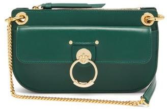 Chloé Tess Mini Leather Cross-body Bag - Green