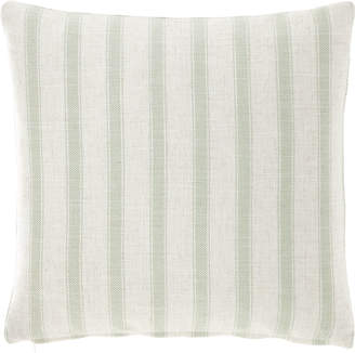 "French Laundry Home Striped Pillow, 20""Sq."
