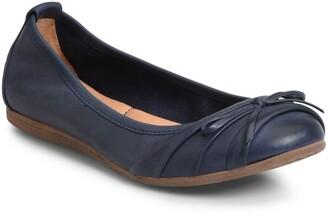 Børn Chelan Leather Ballet Flat