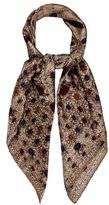 Chanel Gripoix Printed Scarf