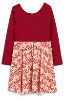 Tea Collection Girl's Dahlia Skirted Dress