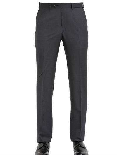 Brioni Pinstripe Stretch Wool Slim Fit Suit