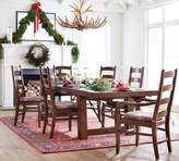 Pottery Barn Benchwright Extending Dining Table, Rustic Mahogany